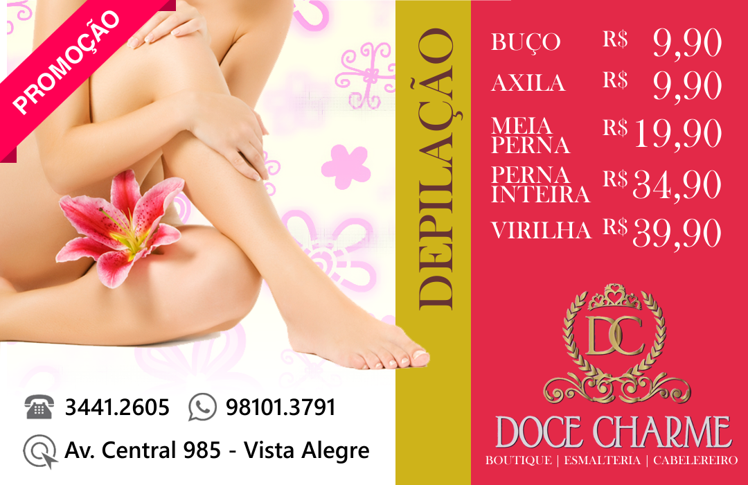 Flyer Doce Charme