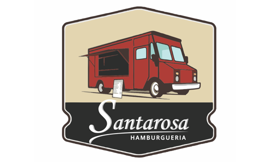 Logotipo Santarosa Foodtruck