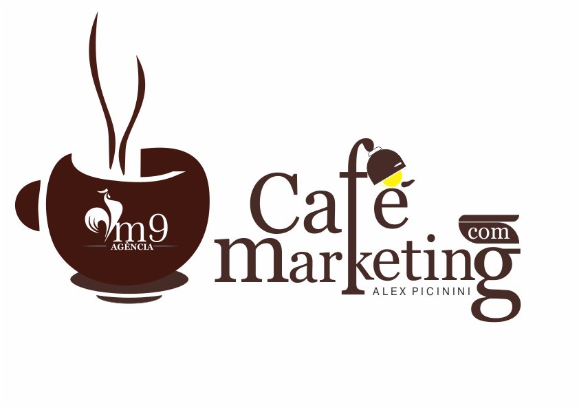 Logotipo Café com Marketing