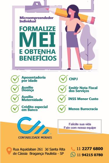 Cartaz Abertura de MEI Microempreendedor Individual