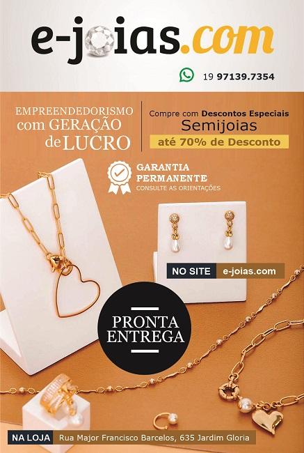 Folheto Panfleto Semijoias Pronta Entrega