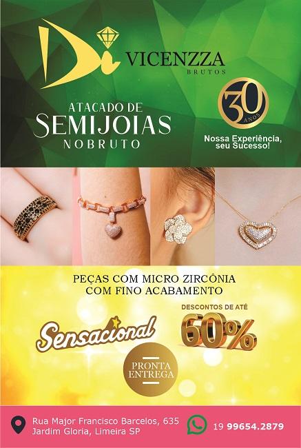 Folheto Panfleto Semijoias no Bruto