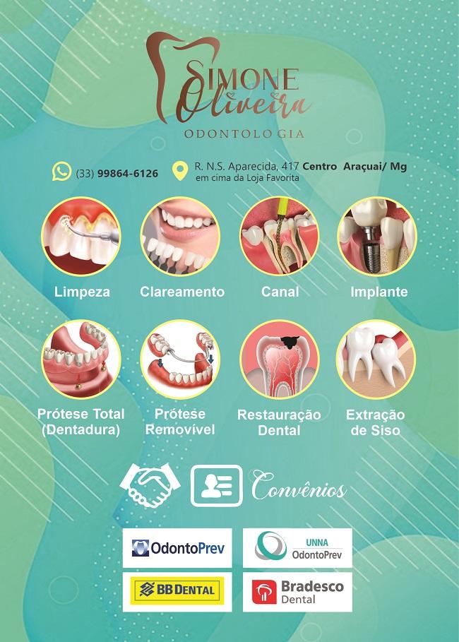 Folheto Serviços de Odontologia