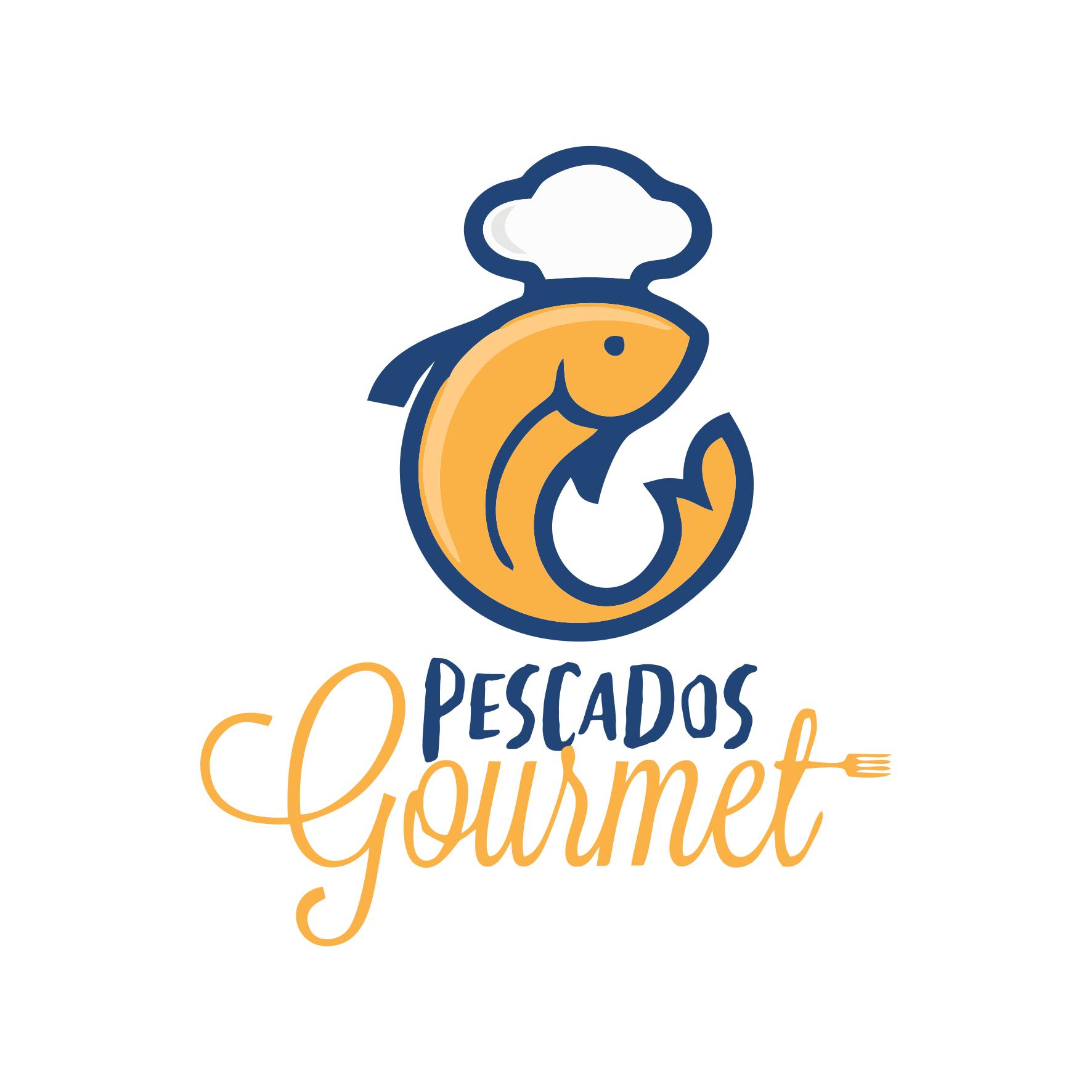 Logomarca Logotipo para Pescados Gourmet