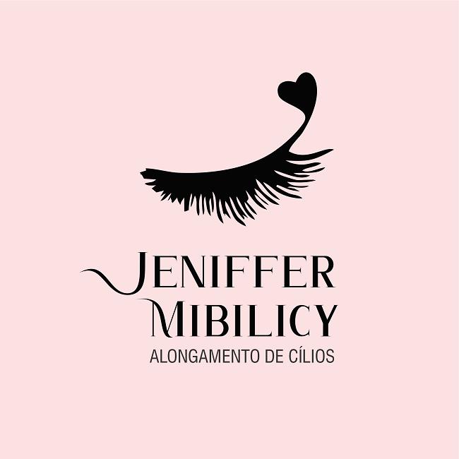 Logotipo Alongamento de Cílios