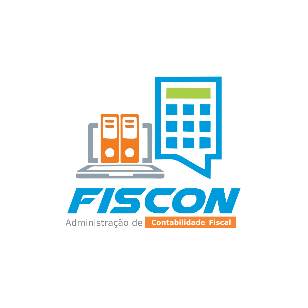 Logotipo Logomarca Administração de Contabilidade Fiscal