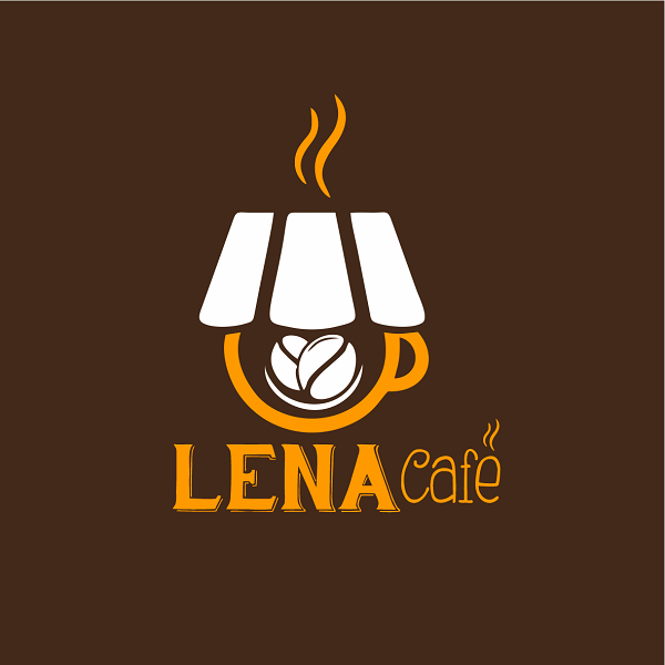 Logotipo Logomarca Cafeteria