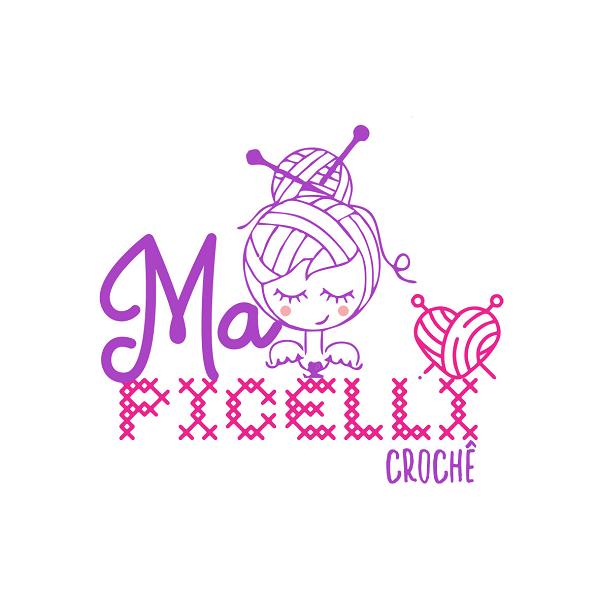 Logotipo Logomarca Croche e Costura Artesanal
