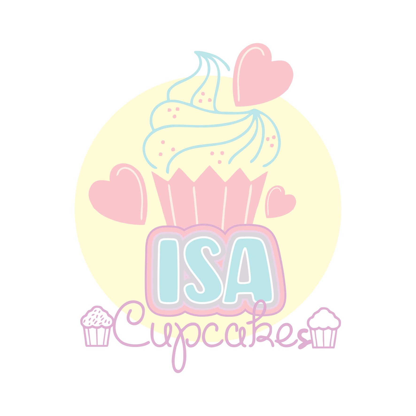 Logotipo Logomarca Cupcakes CakePops e Marshmallow