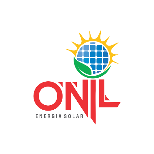 Logotipo Logomarca Energia Solar Fotovoltaica Sustentável