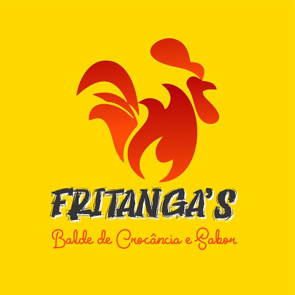 Logotipo Logomarca Frango Frito no Balde