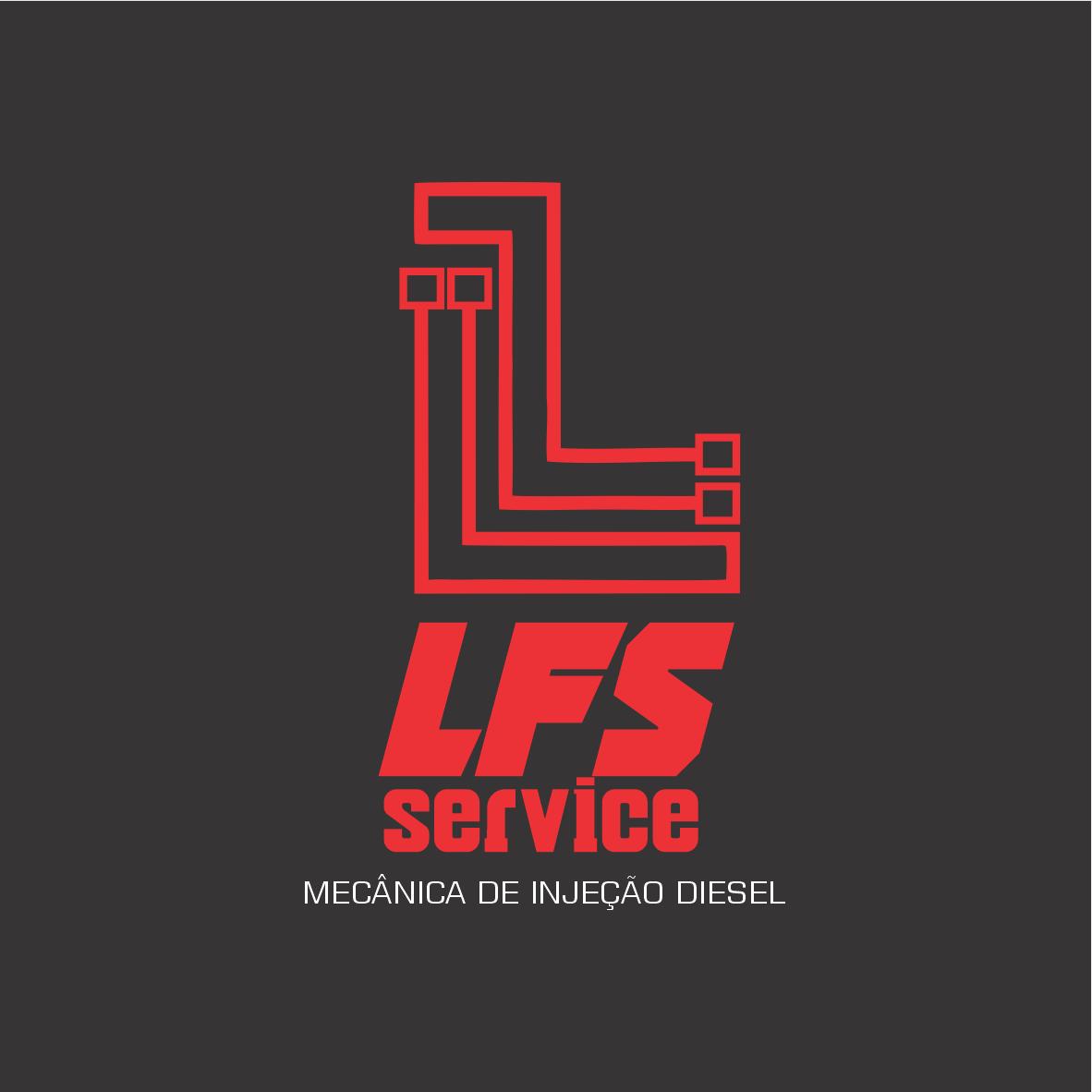 Logotipo Logomarca Mecânica de Injeção a Diesel