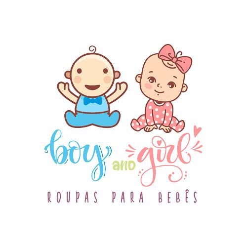 Logotipo Logomarca Roupas para Bebês