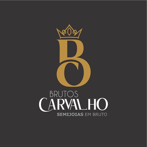 Logotipo Logomarca Semijoias em Bruto