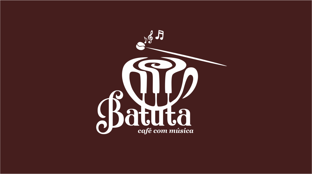 Logotipo Logomarca Slogan e Cartão de Visitas Cafeteria