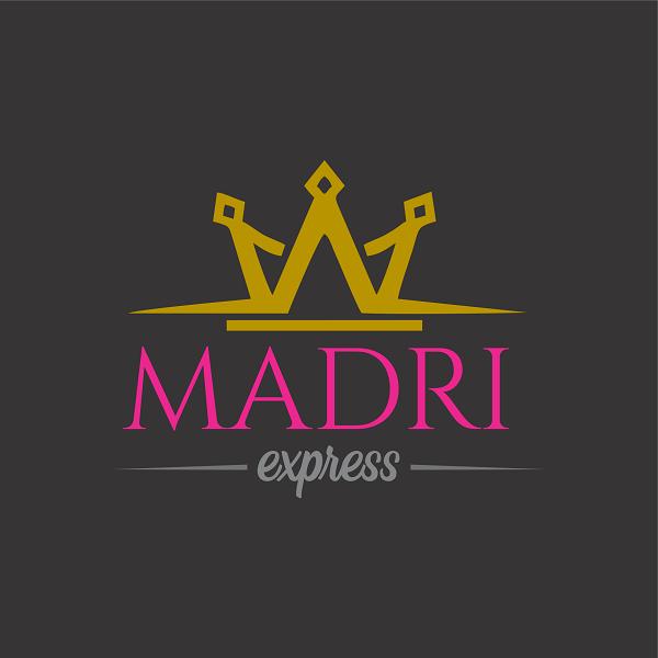 Logotipo Logomarca para Salão de Beleza Express
