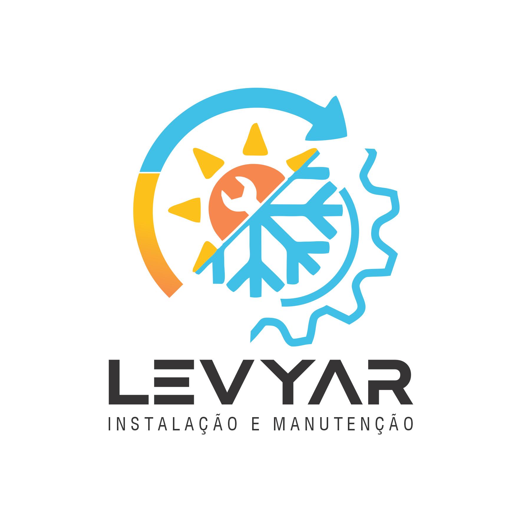 Logotipo Manutenção Ar Condicionado e Refrigeração