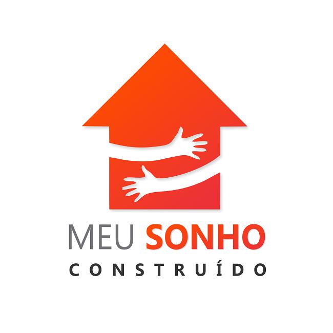 Logotipo Slogan Logomarca Construtora de Casa