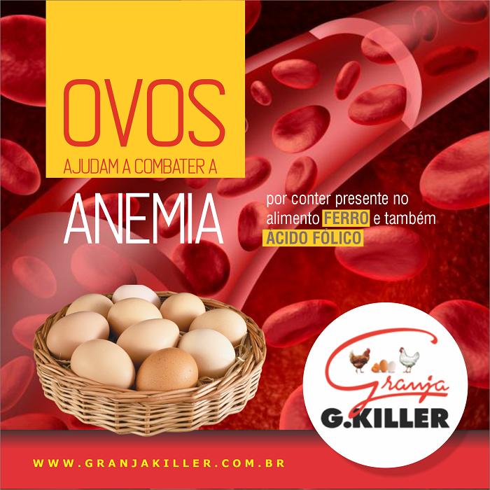Propaganda para Rede Social sobre Ovos