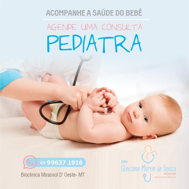 Propaganda Consulta Pediatra