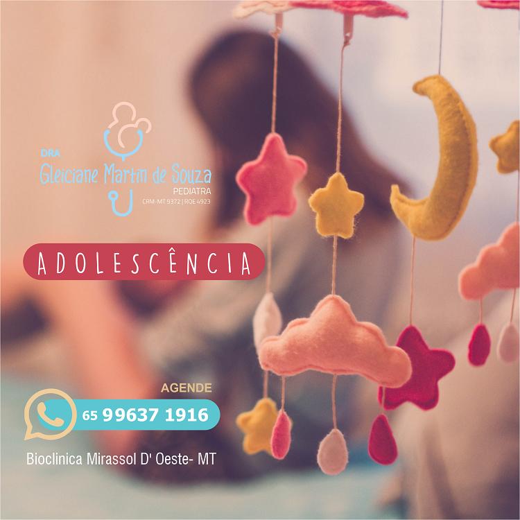 Propaganda Consulta Pediatria para Adolescente