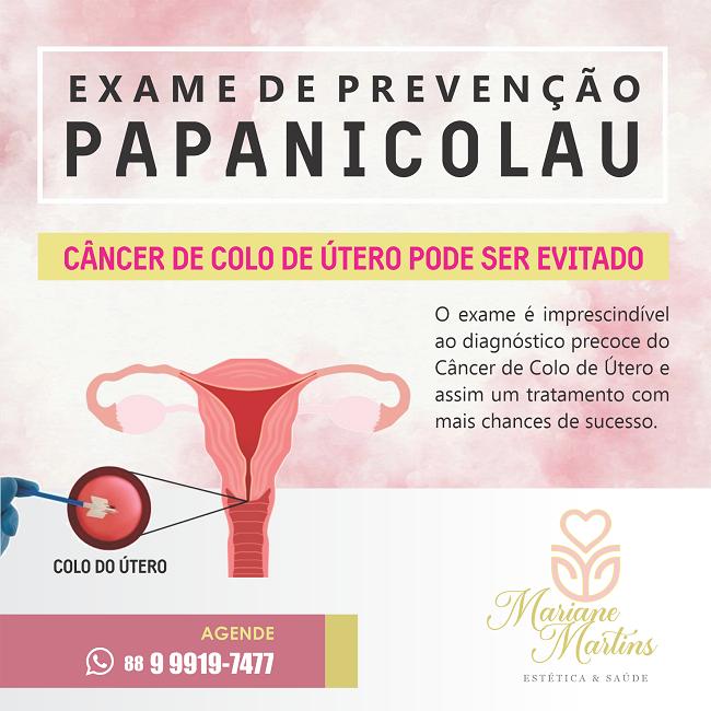 Propaganda Exame de Prevenção Papanicolau