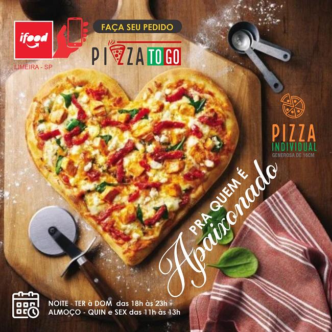 Propaganda Pizza Individual Dia dos Namorados