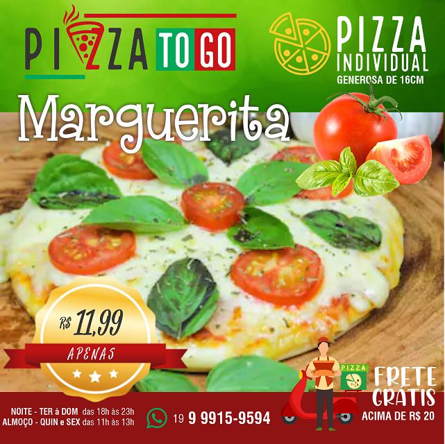 Propaganda Pizza Individual Marguerita