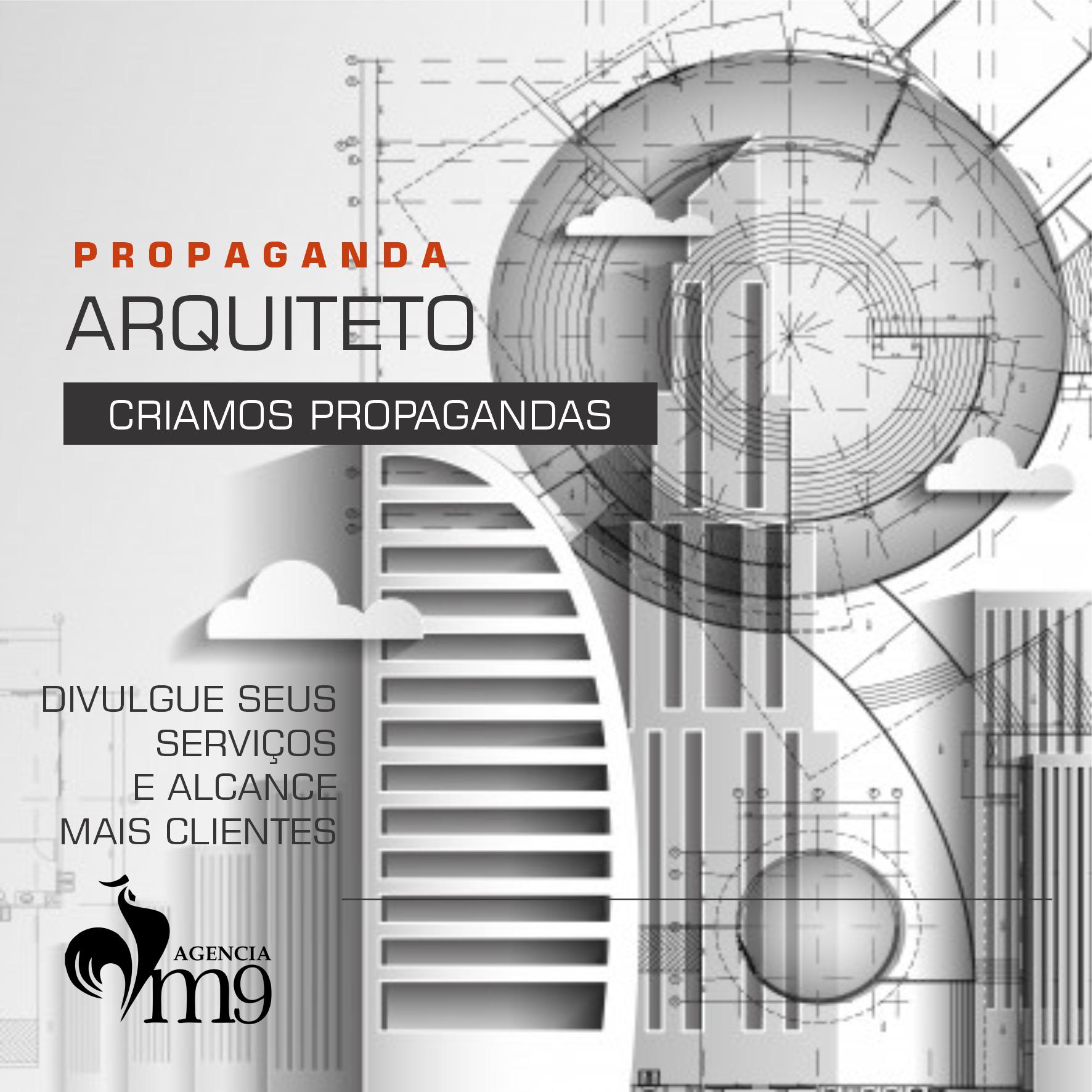 Propagandas Profissionais para Arquitetos
